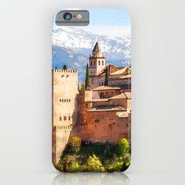Granada, Alhambra iPhone Case