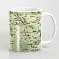 oz Mugs featuring Oz Land by strentse