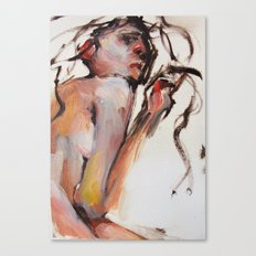 Flirtations Canvas Print