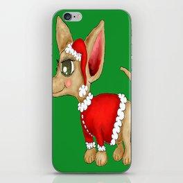 Christmas Chihuahua or Merry Chimas! iPhone Skin