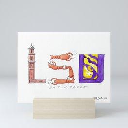 LSU - Geaux Tigers! Mini Art Print