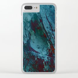 Sand Space II Clear iPhone Case