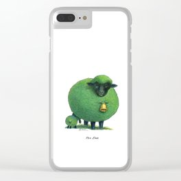 Pea Ewe Clear iPhone Case