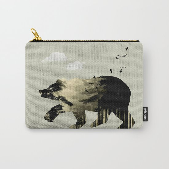 Bear Day Out Carry-All Pouch