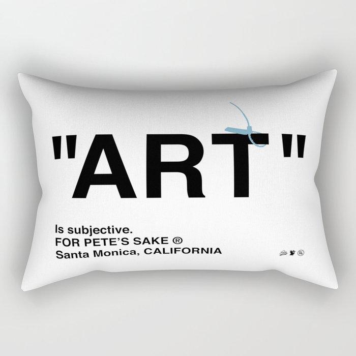 """ART"" Rectangular Pillow"