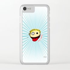 The Sbirù - Just Smile... Clear iPhone Case