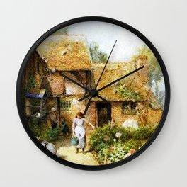 Work At Home Wall Clock