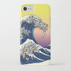 The Great Wave Of  Cat Slim Case iPhone 7