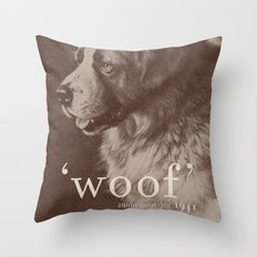 Famous Quotes #1 (anonymous dog, 1941) Throw Pillow
