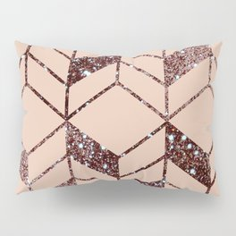 Rose Gold Pillow Sham