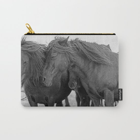 PONIES IN THE WIND Carry-All Pouch