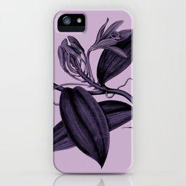 lilac vanilla iPhone Case