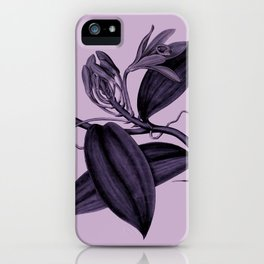 lilac vanilla iPhone Case