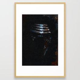 Kylo Ren Framed Art Print