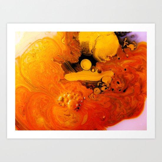 Catalepsy Art Print