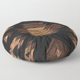 Urban Tribal Pattern No.7 - Aztec - Wood Floor Pillow