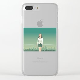 Independent Business Woman Clear iPhone Case