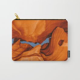 Upper Antelope Canyon at Night III Carry-All Pouch