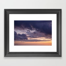 Hawaiian Night Sky Framed Art Print