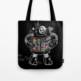 Panda Music Jaeger Tote Bag