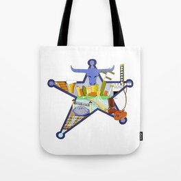 The Big D Tote Bag