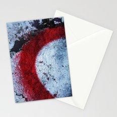 Red Paint Stationery Cards