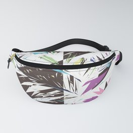Abstract bold artistic triangles geometrical shapes Fanny Pack