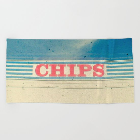 Chips Beach Towel