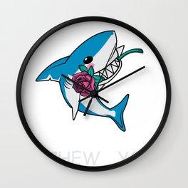 I Chews You Gift Wall Clock