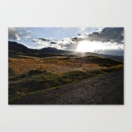 Rolling Skyline Canvas Print