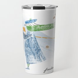 Autumn Knitter Travel Mug