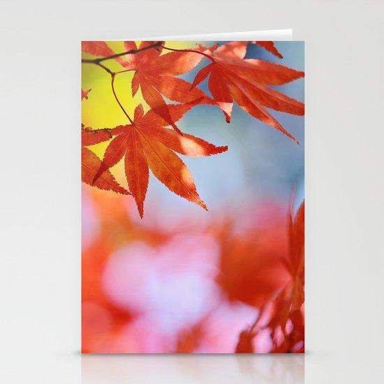 Autumn blush Stationery Cards