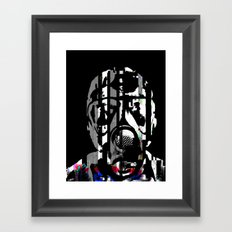 fumes of decay Framed Art Print