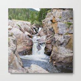 Poudre River Canyon, Colorado Metal Print