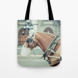 Montreal Taxi 2 Tote Bag