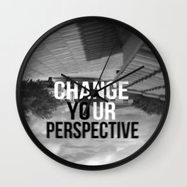 PERSPECTIVE! Wall Clock