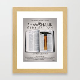 the shawshank redemption Framed Art Print