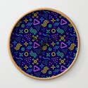 Retro 80s Shapes Pattern by pttrn