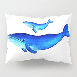 Blue whales Pillow Sham
