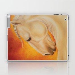 Fire Lusitano Horse oil Painting Laptop & iPad Skin