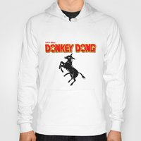 donkey Hoodies featuring Donkey Dong by Metscha