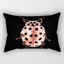 Insecte rose et noir colors fashion Jacob's Paris Rectangular Pillow