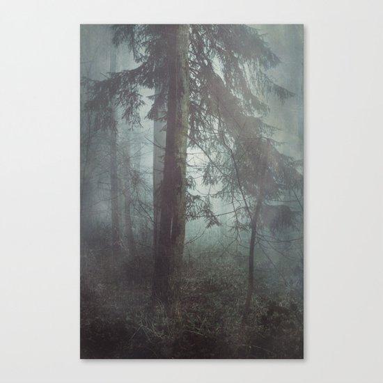 Misty Wilderness Canvas Print