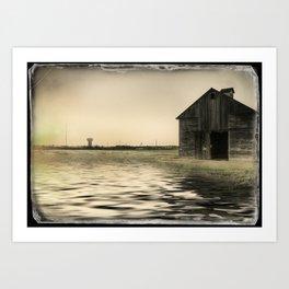 Vintage Flood Art Print