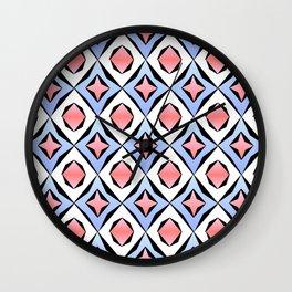 symetric patterns 33 -mandala,geometric,rosace,harmony,star,symmetry Wall Clock