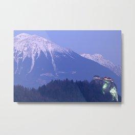 Mountain backdrop Metal Print