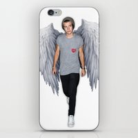 harry iPhone & iPod Skins featuring Harry by Guts N' Gore