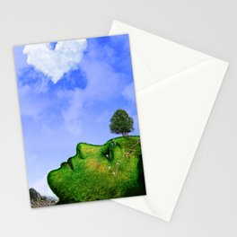 Mother Nature Smiling Stationery Cards