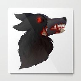 Hellhound Terra Metal Print