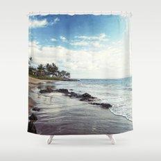 paradise island Shower Curtain
